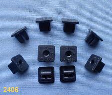 (2406) 10x Verkleidung Clips Befestigung Klips Halter Panel Clip Universal 10mm