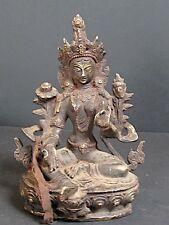 Grande Statuette de TARA en Bronze du NÉPAL
