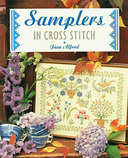 SAMPLERS in CROSS STITCH ~ 48 Page Soft Cover Book ~ BEAUTIFUL PATTERNS