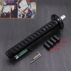 310mm Samurai Sword Car Gear Shift Knob Shifter Katana Metal Sport Black
