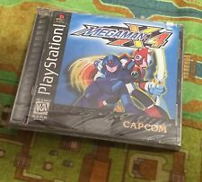 Mega Man X4 Brand New Factory Sealed BLACK LABEL Sony PlayStation 1 PS1 PS2 PS3