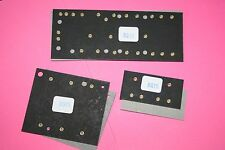 Fender style 6g15 reverb circuit board set brass eyelets NEW