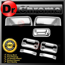 09-14 Ford F150 Chrome HALF Mirror+2 Door Handle+no keypad+PSG KH+Tailgate Cover