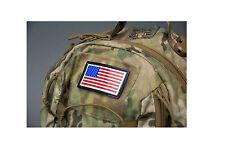 Morale Patch Milspec Monkey IR Infrared US American Flag Color - Standard Left
