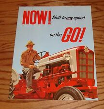 1957 Ford Tractor Select-O-Speed Foldout Sales Brochure 57