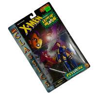 X-Men Classics Psylocke Figure Toy Biz 1996 Vintage Light-Up Psychic Knife NIP
