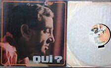 FRENCH POP VOCAL LP: CHARLES AZNAVOUR Qui BARCLAY Vedettes gatefold PAUL MAURIAT