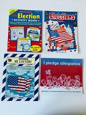 Elections Primary Teacher Guides My Country Thematic Unit Pledge Allegiance Lot