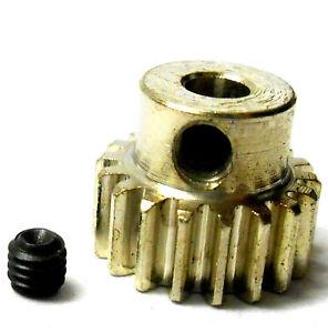 M0.6 0.6 Modulo 0.6M 20T 20 Denti 540 550 Motore Pignone Cambio Argento RC 1/10