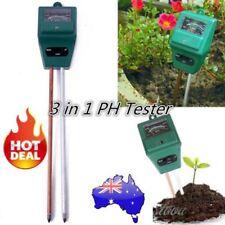3 in 1 Ph Tester Soil Water Moisture Light Test Meter for Garden Plant Flower GH