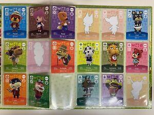 Nintendo Animal Crossing Amiibo Collectors Album series 1 & 49 Cards  3 festival