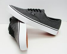 VANS Authentic (Oversized Herringbone) Black VN-0A38EMU4J Men s size  11 5ddcae6e9