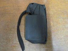 New Black Leather Phone Case f/Motorola 650 Micro Lite2 #61120 w/Clip & Strap