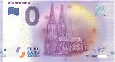 0 Null Euro Schein Kölner Dom  2017-1 Zéro 0 € Billet Touristique (21)