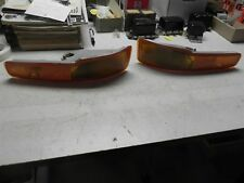 1997-1999 BUICK PARKING LIGHT TURN SIGNAL LAMPS PAIR ALL 5977563 GM NICE WOW G13