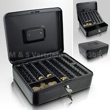 30cm schwarz Geldkassette Münzkassette Zählkassette Transportkassette Kasse Safe