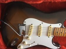 Fender Squire JV 1982 Stratocaster Original & Fender Tweed Case ONE piece body !