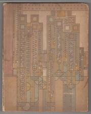 INSCRIBED COPY OF FRANK LLOYD WRIGHT'S MODERN ARCHITECTURE 1931