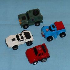 original G1 Transformers minibot lot #2 Brawn Gears Tailgate red Cliffjumper