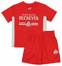 Outerstuff Ncaa Toddlers Ohio State Buckeyes Double Short Set