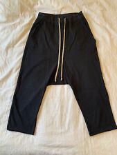 rick owens drkshdw Cropped Drawstring Pants XS Black