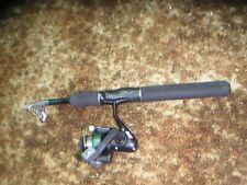 COLEMAN Tesescopic Fishing Rod w Reel COLEMAN Outfitter CO 100F EUC