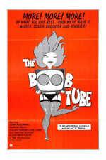 1975 THE BOOB TUBE VINTAGE ADULT FILM MOVIE POSTER PRINT 54x36 BIG