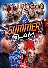 WWE: Summerslam 2016 (DVD, 2016, 2-Disc Set) NEW