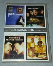 4 Susan Sarandon Movies THELMA & LOUISE The JANUARY MAN SOMETHING SHORT of PARAD