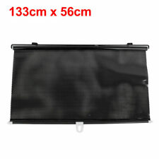 120cm x 60cm Retractable Car Side Window Sun Shade Roller Suction Cup Mounting