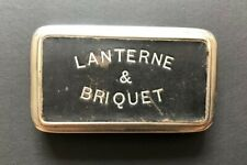 Rare - Lanterne & Briquet - Lanterne de poche ancienne repliable - Début XXème