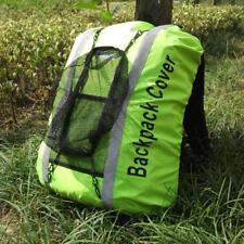 High Visibility Waterproof Backpack Rucksack Bag Rain Cover Cycling Running