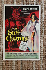 The She Creature Lobby Card Movie Poster Chester Morris Marla English Tom Conway