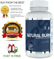 NPS NUTRITION NATURAL BURN - STIMULANT FREE THERMOGENIC FAT BURNER + SAMPLE