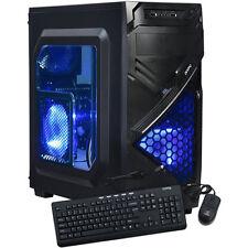 AMD Custom Windows 10 Quad-Core HDMI GeForce Gaming Desktop PC Computer System