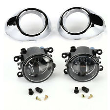 Lens Clear Driving Fog Lights Bumper Lamps+Bulbs For Ford Focus 2012 2013 2014