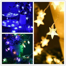 10M Fairy String Star Light Lamp Wedding Xmas Party Outdoor Indoor Room Decor US