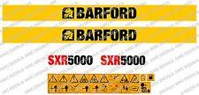 BARFORD SXR5000 DUMPER DECALS