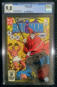 Batman 372 CGC 9.8 White Pages Grim Reaper Cover