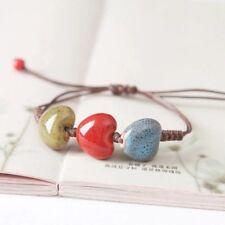 Bohemian Heart Charm Bracelet