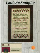 Cross Stitch Chart - Handwork Samplers  - Louise's Sampler