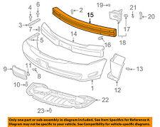 Front Bumper-Impact Bar Reinforcement Beam Support Rebar 25659759
