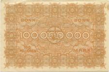 """Germany 100.000.000 Mark 1923 Bonn â""""–069720"""
