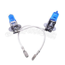 1 Pair HID H3 100W 6000K Xenon Super Bright White Halogen Head Light Bulbs Lamp