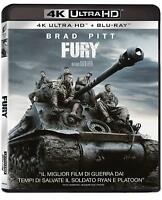 FURY (BLU-RAY 4K Ultra HD + BLU-RAY) Genere Guerra con BRAD PITT