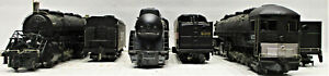RIVAROSSI AND BACHMANN STEAM LOCOMOTIVES HO SCALE 3 LOT (NO BOXES)