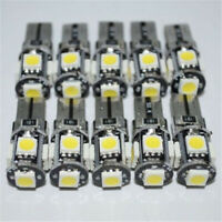 10 x T10 Led Canbus Error Free 168 194 W5W 5 SMD Car Side Wedge Bulb White light