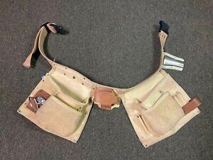 Vintage Craftsman Sears Roebuck 37543 Leather Tool Belt Carpenter Belt