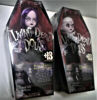 Living Dead Dolls- Beauty & The Beast - Scary Tales - MEZCO - BOTH DOLLS - MINT