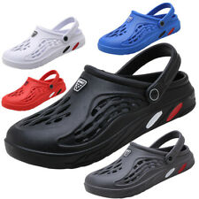 Rubber Make Mens Clogs Shoes Garden Water Slip on Mule Sandal Classic Outdoor